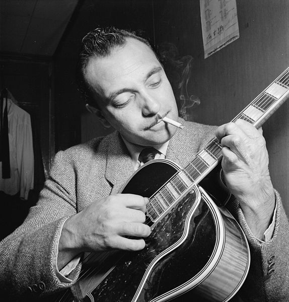Portrait de Django Reinhardt, New York