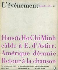 L'Evénement, la dernière aventure d'Emmanuel d'Astier de la Vigerie