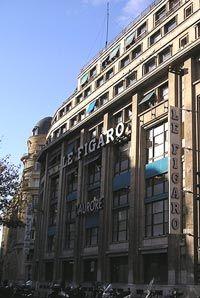 l'ancien siège du Figaro, rue Montmartre