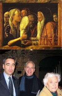 Syméon (Mantegna), F. Clavairoly, E. Lestringant, ML. Girod