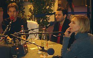 Arnaud Cathrine, Eric Caravaca et Nathalie Richard