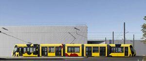 Le tramway mulhousien au design signé Peret