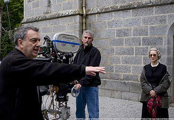 Stephen Frears sur le tournage de the Queen