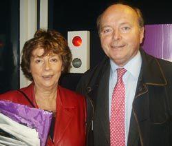 Michèle Cotta et Jacques Toubon