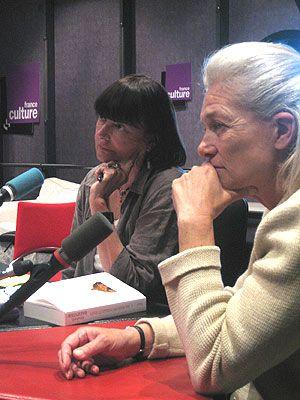 Arlette Farge et Elisabeth Badinter