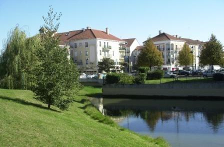 Le centre ville de Bailly-Romainvilliers