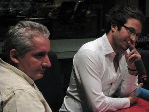 Malik Chibane et Julien Chièze