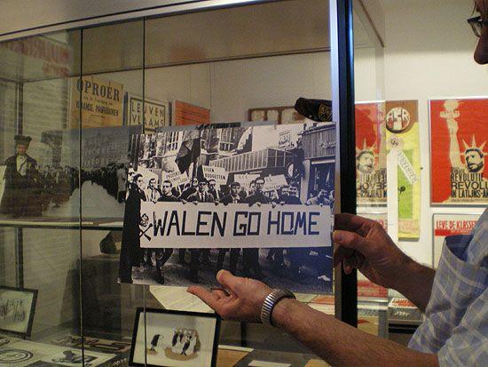 Au Musée de la contestation estudiantine, dans l'Université