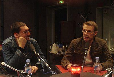 Fabrice Michel et Lambert Wilson