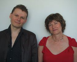 Ludovic Hary et Maryline Desbiolles