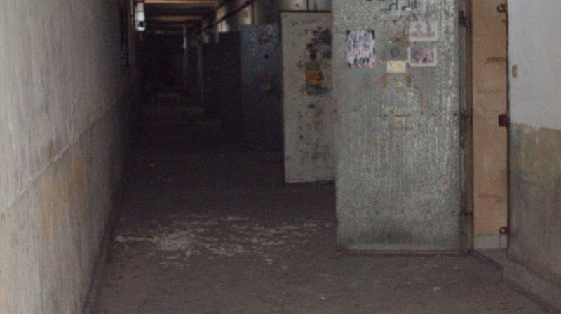 Prison d'Avignon - Couloir de la prison