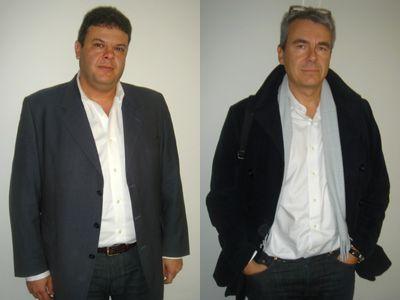 Emmanuel Parody et Eric Scherer