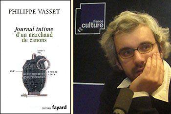 Philippe Vasset, Journal intime d'un marchand de canons (éd. Fayard)