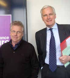 D. Cohn-Bendit et M. Barnier
