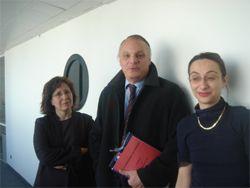 Brigitte Dormont, Guy Vallancien et  Valérie Charolles