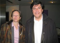 Pervenche Berès et Jacques Sapir