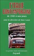 L'Italie contemporaine, de 1945 à nos jours