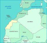 Les pays qui occupent le Sahara occidental