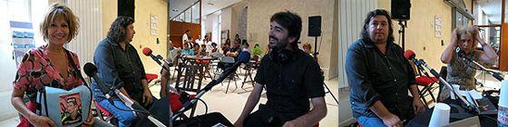 RenDez-Vous en AVIGNON : Clémentine CELARIE, Pedro G.ROMERO et Eric MEZIL