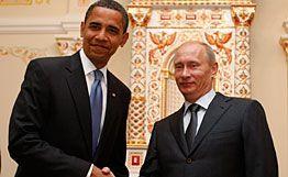 Le Président américain et le Premier Ministre russe