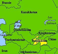Le Tadjikistan et ses voisins d'Asie Centrale