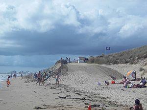 La plage des 60 bornes