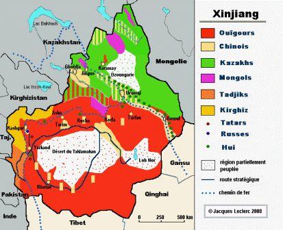 La mosaïque des peuples du Xinjiang