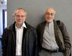 Laurent Joffrin et Bernard Poulet