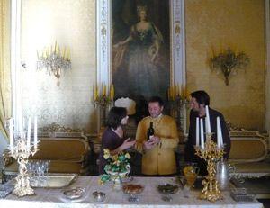 Palerme Palais Gangi avec Angelo le majordome et Eric Biagi