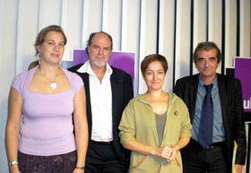 Charlotte Boeuf,Alain Bentolila,Nicole Geneix,René Macron