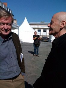 Jean Echenoz et Pierre Michon