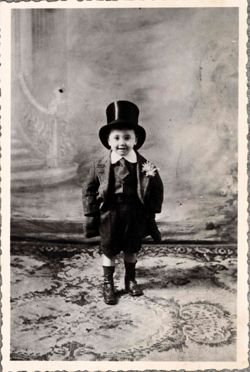 Ionesco enfant à Paris en 1913