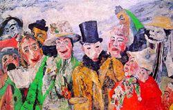 James Ensor: masques et débauche