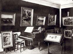 Salle des Degas chez Isaac de Camondo, 1910