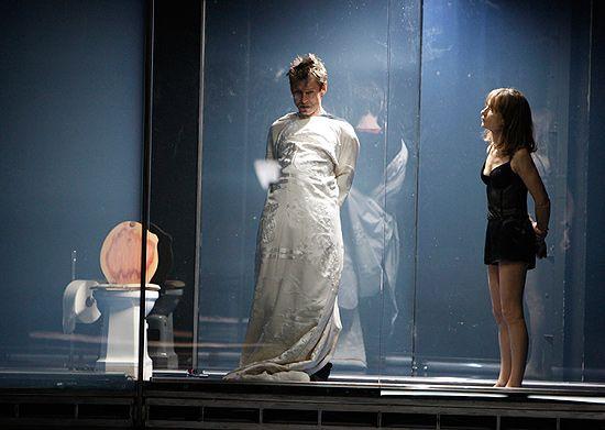 Krzysztof Warlikowski et Isabelle Huppert en répétition