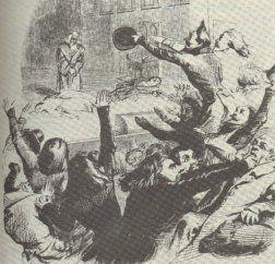 La bataille d'Hernani / Grandville 1936