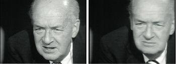 "Vladimir Nabokov dans l'émission ""Apostrophes"" en mai  1975"