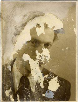 Photo trouvée à Abda, sur le corps de M. Radnoti