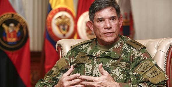 Farc comandante Freddy Padilla