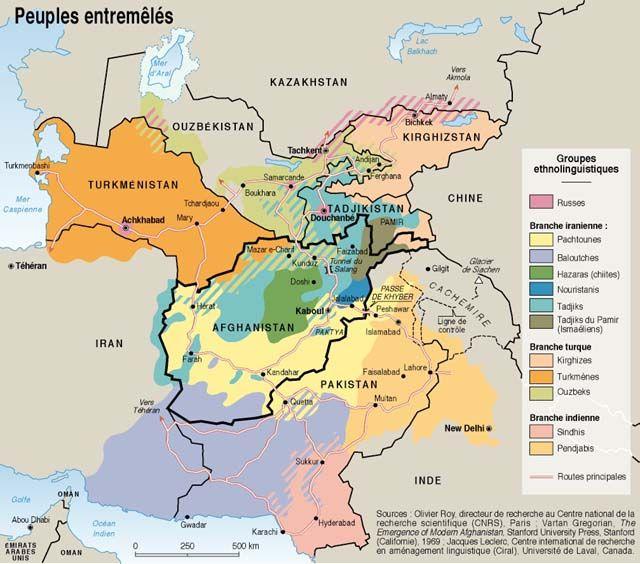 Asie Centrale : des peuples entremêlés