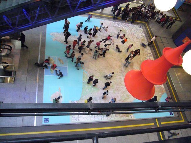 2008 : la France au 1:100 000 à la Cité des Sciences et de l'Industrie