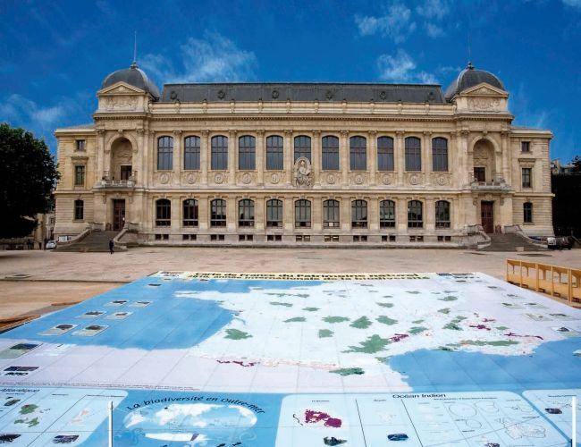 2010 : la carte du patrimoine naturel au Jardin des Plantes