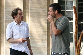 Denis Lavant et Raphaël Didjaman à la guimbarde.