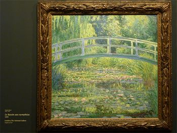 Le Bassin aux nymphéas, 1899 Londres, The National Gallery