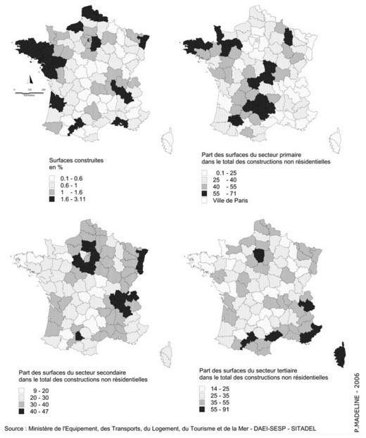 La construction non résidentielle en France (1980-2002)