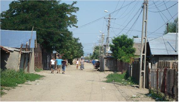 La rue principale du quartier Micro 14