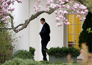 Le président américain Barack Obama, le 27 mars 2009.
