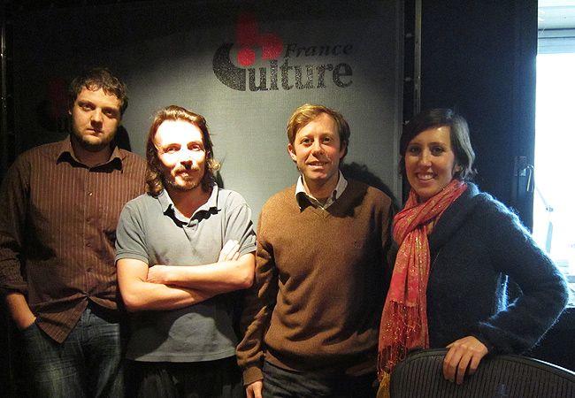 Jean Abbiateci, Benoît Cassegrain, Giordano Cossu et Caroline Caldier