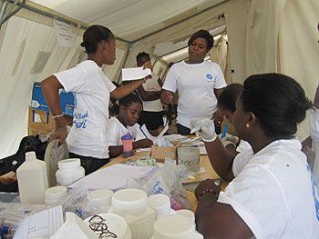 Juin 2010. Médecins du Monde gère toujours l'urgence.