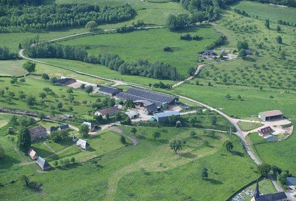 L'extension d'une exploitation à Camembert, lieu-dit Beaumoncel (Orne)